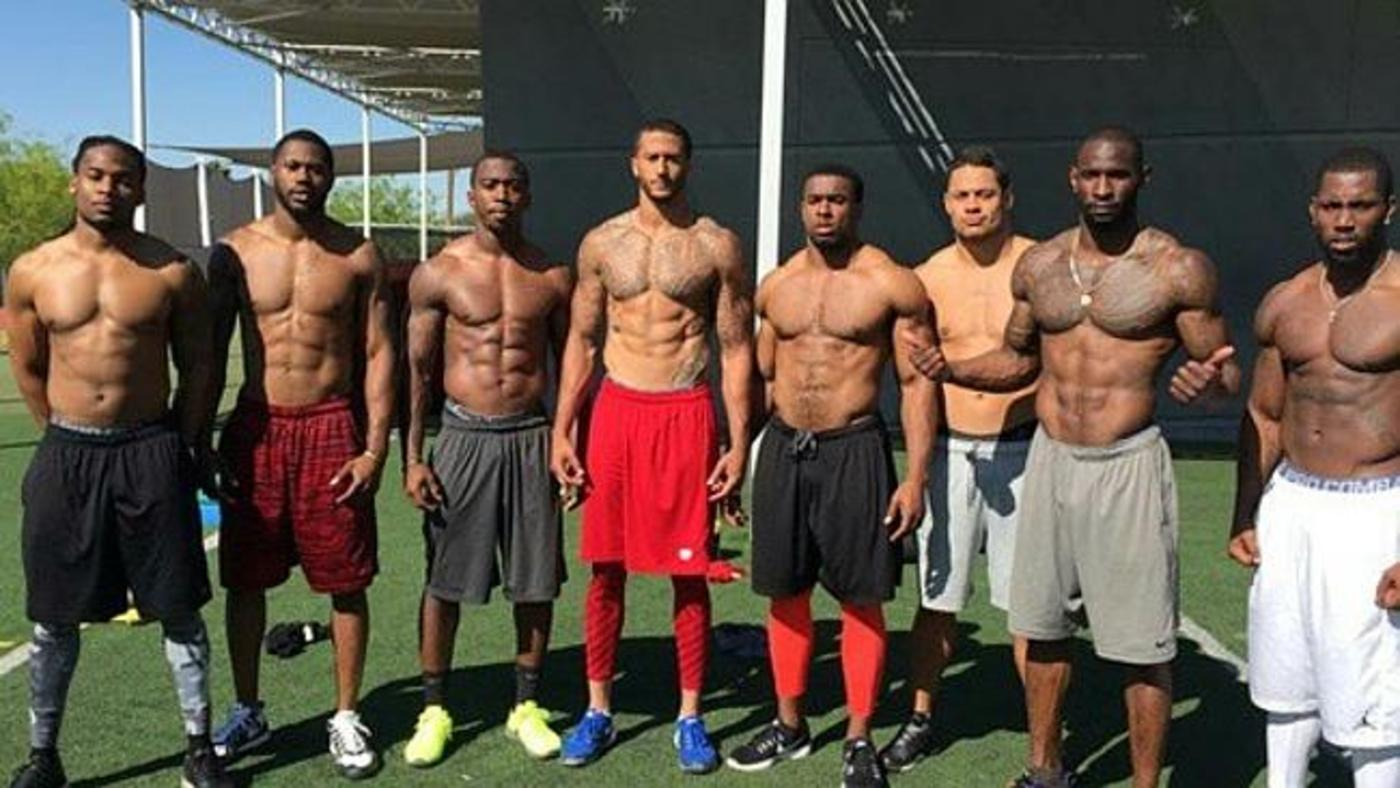 Colin Kaepernick releases first photo of rugby star Jarryd ...